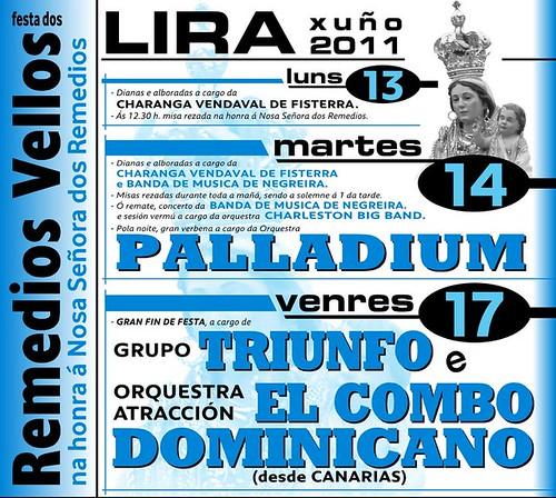 Carnota 2011 - Festa dos Remedios Vellos de Lira- cartel