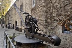 GRUA - MUSEU MARÍTIM DE BARCELONA (Yeagov_Cat) Tags: 2017 barcelona catalunya portdebarcelona port museumarítim museumarítimdebarcelona grua crane