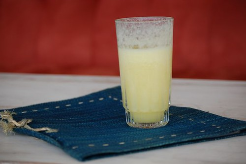 freshly squeezed pineapple juice