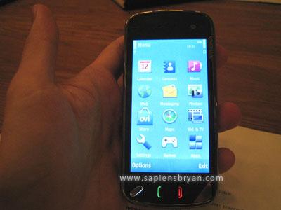 Nokia N97 Phone Portrait