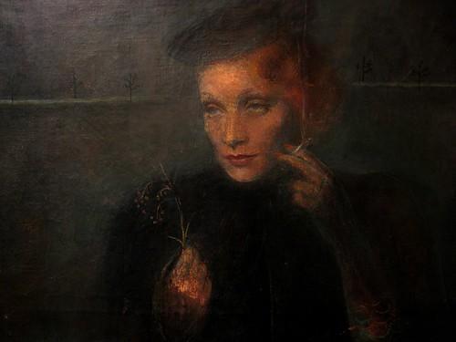 Marlene Dietrich by Martin Kosleck, Gay Museum Berlin.
