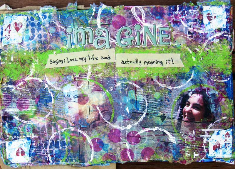 Imagine Art Journal