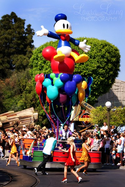 Celebrate: A Street Party Donald Float