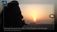 Druid Does Stonehenge Video Stills (Jon Himoff) Tags: heritage sunrise wonder stonehenge druid ancientworld heritagekey