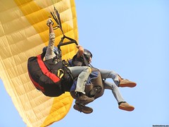 Tandem Flying (krbloomer) Tags: india asia paragliding airborne kamshet