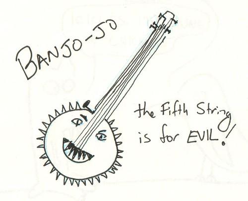 366 Cartoons - 120 - Banjojo