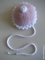 Bokmärke. (stjernfall) Tags: pink white cake crochet rosa amigurumi crocheted bookmark tårta vit virka bokmärke bakelse virkad