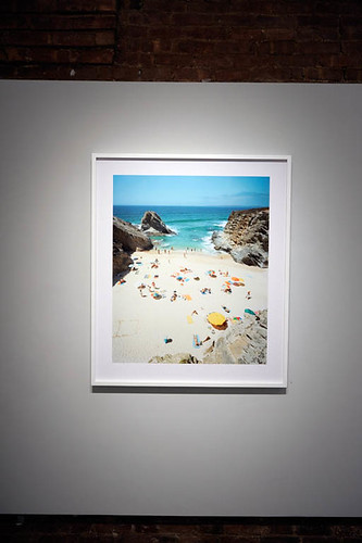 Christian Chaize I Praia Piquinia: Installation View by Jen Bekman
