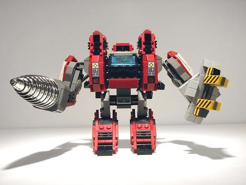 Starcraft 2 Lego Terran SCV