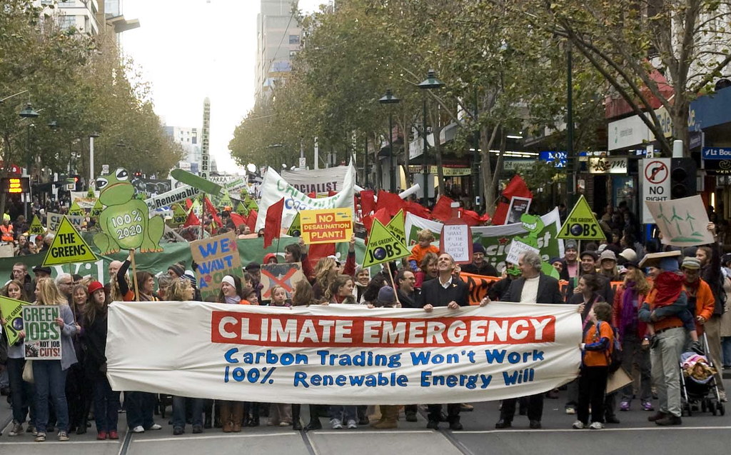 Climate emergency rally