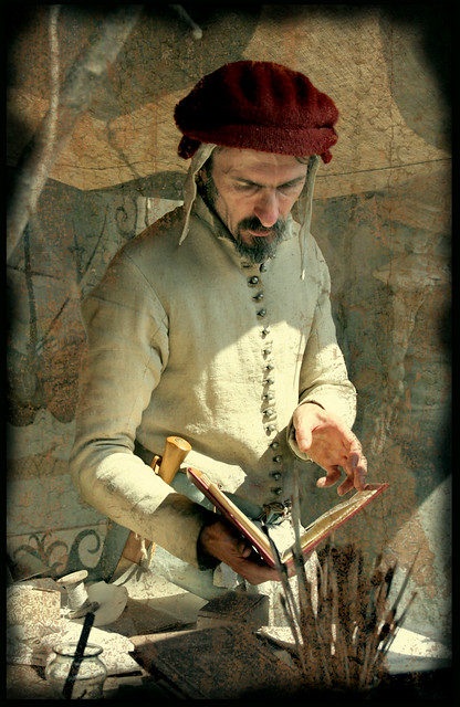 Portrait of a Manuscript Painter