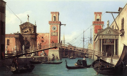 Madonna dell' Arsenale, Canaletto