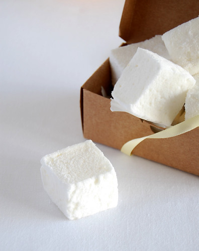 Lemon marshmallows / Marshmallows de limão siciliano