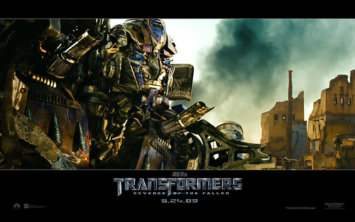 Wallpaper Transformers 2 Optimus Prime