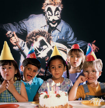 economy forces Insane Clown Posse to play birthday party.