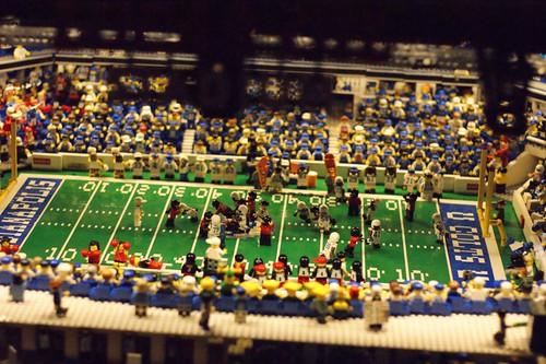 Lucas Oil Stadium Tour: A LEGO® creation by Brian Alano : MOCpages.com