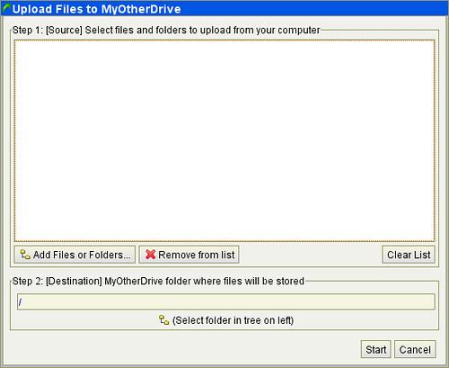 MyOtherDrive 2G免费支持外链