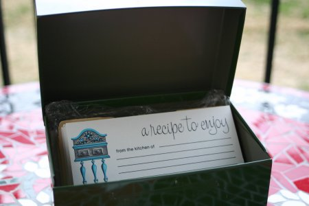 Vintage Recipe Cards & Box