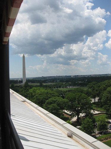 Washington Monument from POV, W Hotel Washington