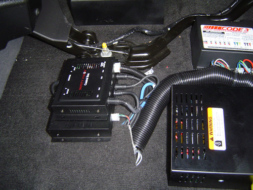 Mobile video camera control boxes