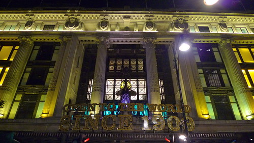 Selfridges in it's glory