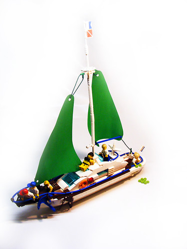 Custom minifig Sailing