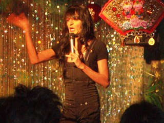 Kumar in drag, picture via ABC News