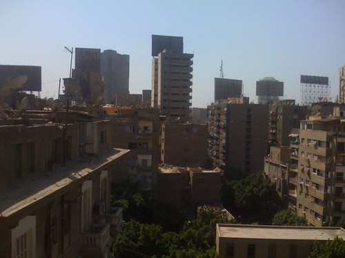 Our view of Cairo