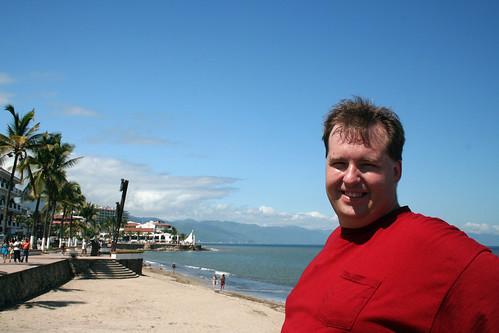Mike on the Beach - Puerto Vallarta