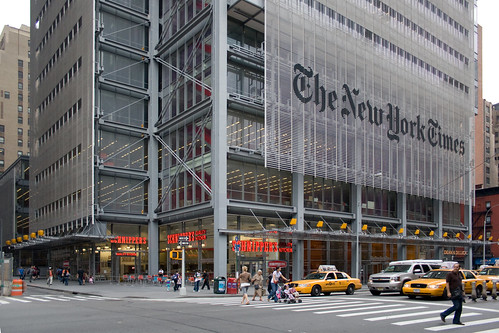 The New York Times Building, Midtown, Manhattan, New York, USA, by jmhdezhdez
