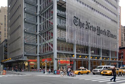 The New York Times Building, Midtown, Manhattan, New York, USA, by jmhdezhdez