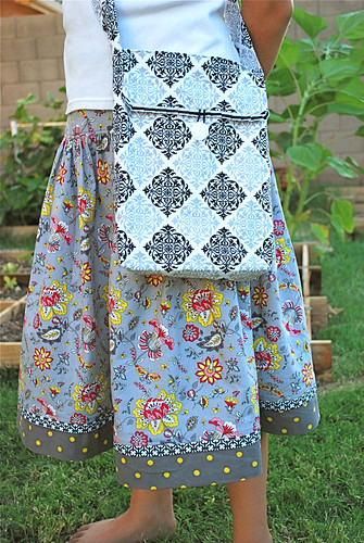 Summer Soiree skirt and tote 2