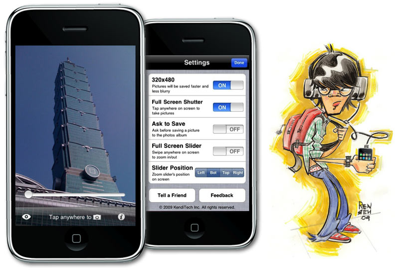 Camera Zoom iPhone App