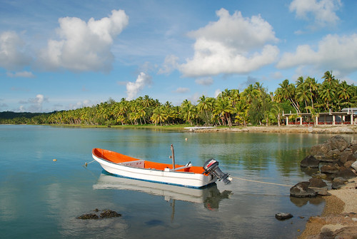Aitutaki Harbour