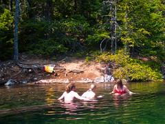 log rolling (1yen) Tags: camping camp washington wa northcascadesnationalpark rosslake rosslakenationalrecreationarea