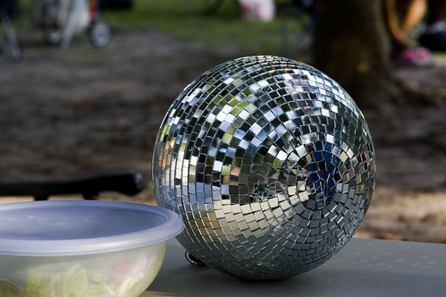 disco ball by you.