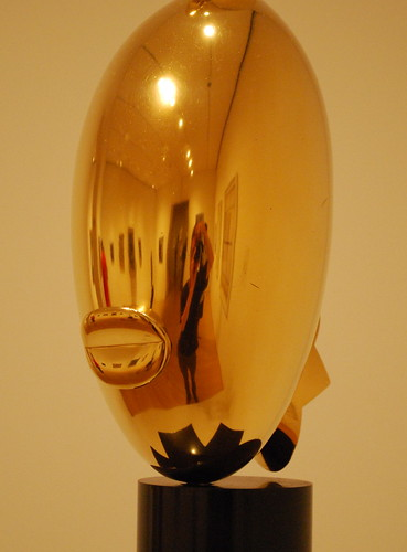 Self-Portrait in a Convex Brancusi