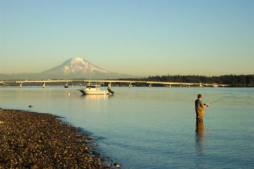 Fishing in Gig Harbor, WA