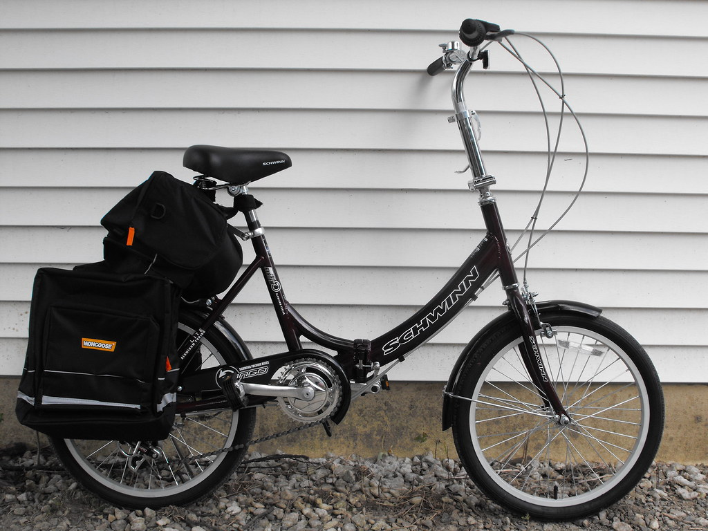 Schwinn folding bike.