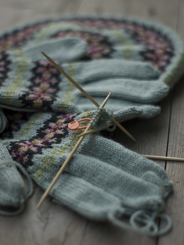 Fairisle Gloves and Beret