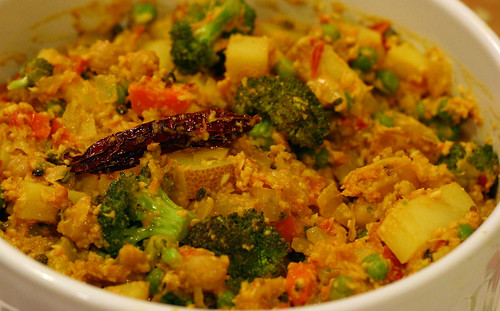 Spicy Vegetable Korma