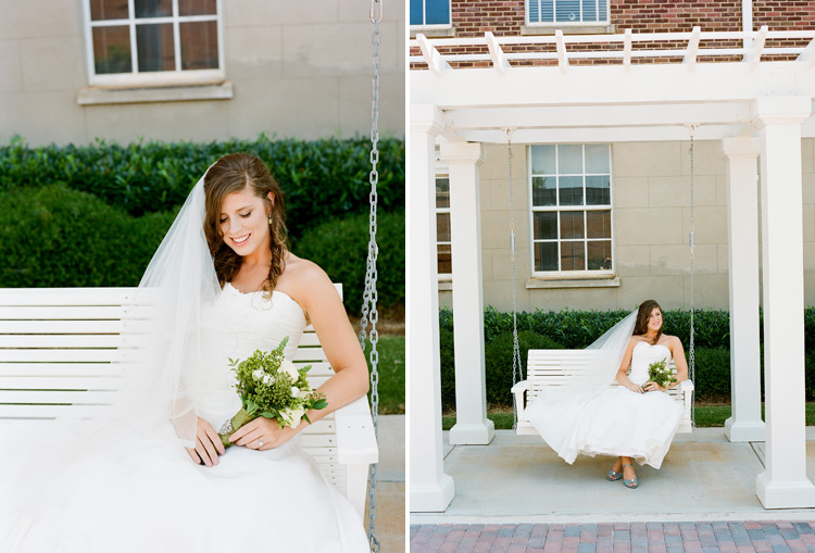 Image of Lauren Cauthen (now Johns) Bridal Session