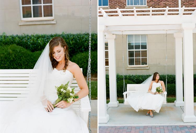 Image of Lauren Cauthen (now Johns) Bridal Session