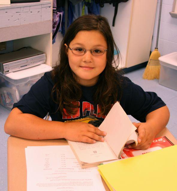 Maddy 4th grade