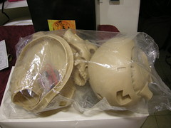 Endo Skull - still bagged! (luvsdaheat) Tags: model garage kit terminator t2 the endoskeleton endoskull