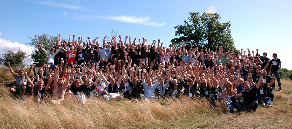 Deltagarna på Sweden Social Web Camp