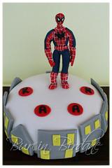 Spiderman Pasta (burcinbirdane) Tags: cake spiderman