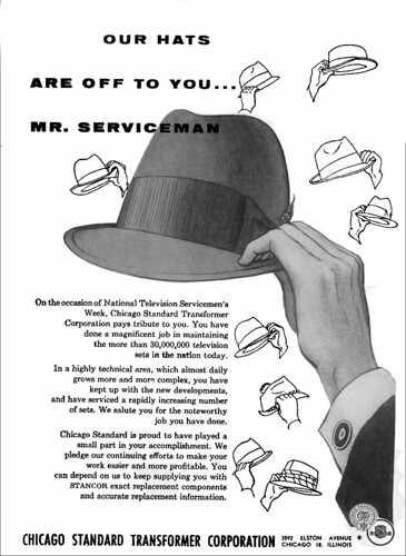 Hats Floating 1955