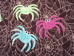 Three Spiders