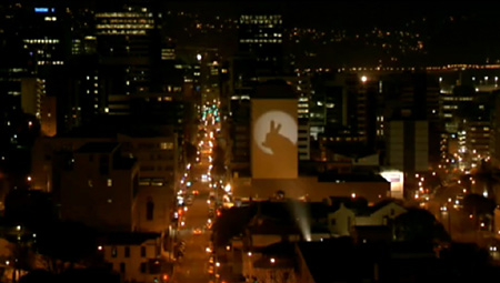 Filming Shadow Puppets Commercial, Wellington, NZ